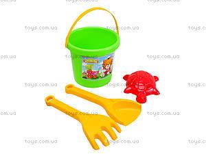 Песочный набор «Тинренок» с формочками, 39175, игрушки