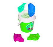 Песочный набор 6 элементов зеленый Toys Plast, ИП.21.000, отзывы