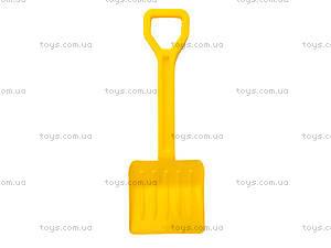Песочный набор для детей «Лопатка и грабли», 01-110-2, toys.com.ua