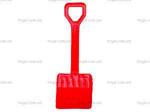 Песочный набор для детей «Лопатка и грабли», 01-110-2, іграшки