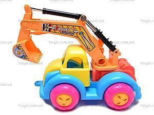 Песочный набор «Экскаватор», KZ-6220, игрушки