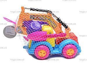Песочный набор «Экскаватор», KZ-6220, детские игрушки