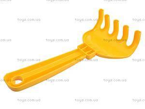 Песочный набор «Кувшинка», с лопаткой и граблями, 1074cp0070805062, купить
