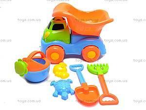 Песочный набор «Машинка», 6 предметов, 2302A