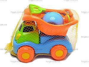 Песочный набор «Машинка», 6 предметов, 2302A, магазин игрушек