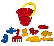 Песочный набор «Незабудка №3» (красный), 0947, купить
