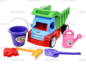 Песочный набор с грузовиком, 085, игрушки
