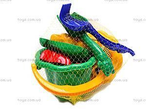 Песочный набор с ведром «Ромашка», 1104cp0070902062, игрушки