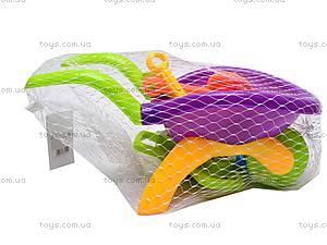 Песочный набор «Тележка», 9 предметов, YF3355, детские игрушки