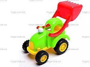 Песочный набор «Трактор», 914G, детские игрушки