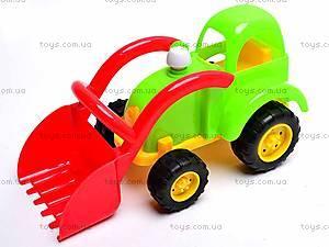 Песочный набор «Трактор», 914G, игрушки