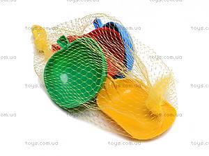 Песочный набор «Василек», лопатка и 3 паски, 0824cp0070202002, магазин игрушек
