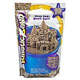Песок для детского творчества «KINETIC SAND BEACH, натуральный цвет» , 71435, купить