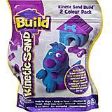 Песок для детского творчества Kinetic Sand Build, 71428BP, отзывы