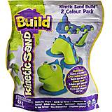 Песок для лепки Kinetic Sand Build, 71428GrB, отзывы