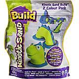 Песок для лепки Kinetic Sand Build, 71428GrB, купить