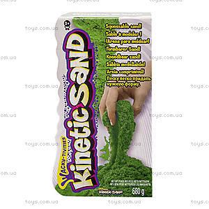 Песок для детского творчества Kinetic Sand, зеленый, 71409G