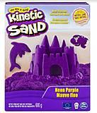 Песок для детского творчества Kinetic Sand, фиолетовый, 71409P, купить