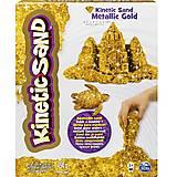 Песок для детского творчества Kinetic Sand Metallic, золотой, 71408G