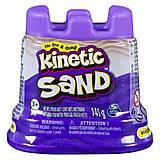 Песок для детского творчества «KINETIC SAND МИНИ КРЕПОСТЬ» фиолетовый, 71419P, купить