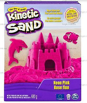 Песок для детского творчества Kinetic Sand. розовый, 71409Pn
