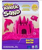 Песок для детского творчества Kinetic Sand. розовый, 71409Pn, фото