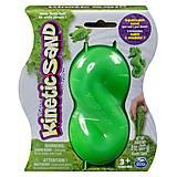 Песок для творчества Kinetic Sand Neon (зеленый, 227 г), 71401G-1