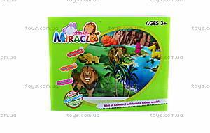 Песок для игры «Джунгли» с формочками, фиолетовый, MS002V