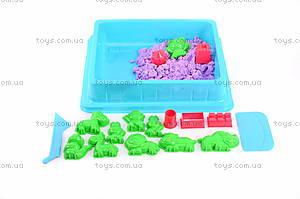 Песок для игры «Джунгли» с формочками, фиолетовый, MS002V, купить
