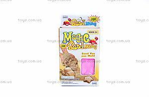 Песок для игры «Зоопарк», розовый, MS004P