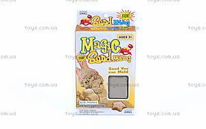 Песок для игры «Зоопарк», серый, MS004G