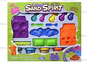 Игровой набор с кинетическим песком и аксессуарами, JL11003C, купить