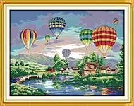 Пейзаж «Воздушные шары», F139, купить