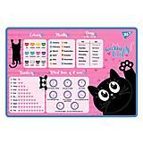 """Подложка для стола """"Meow"""" English 2 шт. в упак, 491655, фото"""