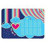 """Подложка для стола """"Rainbow"""" (2 шт. в упак), 491647"""
