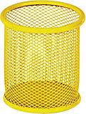 Подставка для ручек круглая металлическая (желтая), ZB.3100-08, купить игрушку