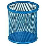 Металлическая подставка-стаканчик для ручек (синий), ZB.3100-02, оптом