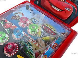Пинбол музыкальный «Тачки», CH5015, игрушки