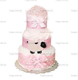 Торт из памперсов Pink sheep, PPC38