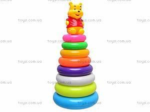 Пирамидка игрушечная «Винни Пух», CX-668C