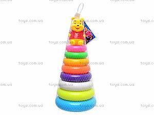 Пирамидка игрушечная «Винни Пух», CX-668C, отзывы
