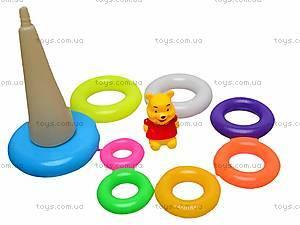Пирамидка игрушечная «Винни Пух», CX-668C, игрушки