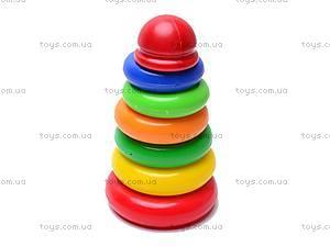 Пирамидка из колец, 6 элементов, 573A, купить