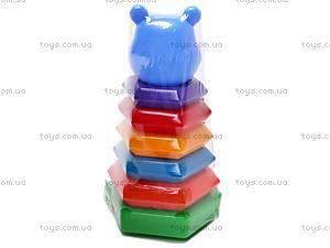 Пирамидка-качалка Медведь, , купить