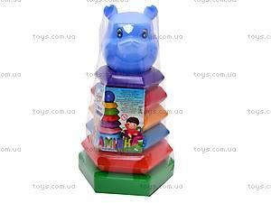 Пирамидка-качалка Медведь,