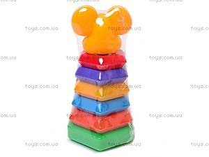 Пирамидка-качалка «Мышка», , купить