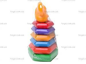 Пирамидка-качалка «Мышка», , фото