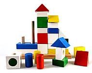 Деревянный конструктор-пирамидка «Дворец», Ду-23, фото