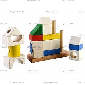 Деревянная пирамидка - конструктор «Сооружение», Ду-25