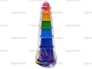 Пирамидка «Сомбреро», 7 элементов, 2704, цена